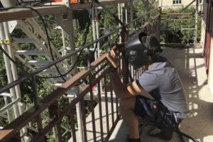 Mise aux normes balcon